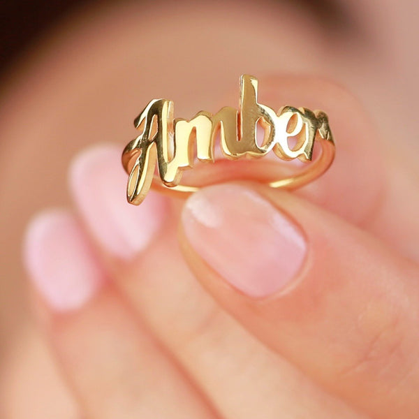 Name Ring - Mothers Day Gift