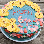 Rustic Birthday Cake