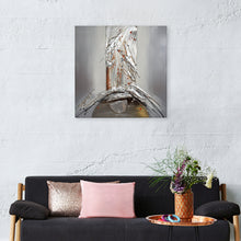 "Load image into Gallery viewer, "" Silver Spring Fountain"" Hand Painted on Wrapped Canvas"