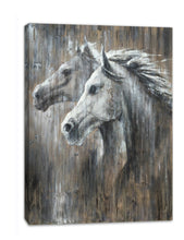 Load image into Gallery viewer, 'lovely Horse' Oil Painting Print on Wrapped Canvas
