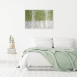 """Spring Green Forest"" Hand Painted on Wrapped Canvas"