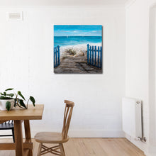 "Load image into Gallery viewer, ""A Hot Summer Day"" Hand Painted on Wrapped Canvas"