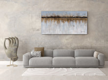 "Load image into Gallery viewer, ""Abstract Earth Elements"" Hand Painted Canvas Artwork Fine Art; Modern Art"
