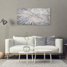 "Load image into Gallery viewer, ""Magnified Sediment Abstract Art"" Hand Painted on Wrapped Canvas"