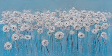 "Load image into Gallery viewer, ""A Sea of Dandelions"" Hand Painted on Wrapped Canvas"