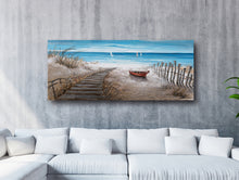 "Load image into Gallery viewer, ""Stairway to Happiness"" Hand Painted Canvas"