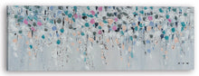 "Load image into Gallery viewer, ""Falling Flower Petals"" Hand Painted on Wrapped Canvas"