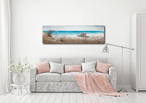 """The Ocean Front"" Hand Painted on Wrapped Canvas"