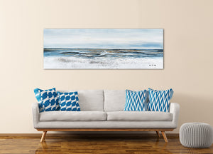 """A Tide is Coming"" Hand Painted on Wrapped Canvas"