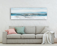 "Load image into Gallery viewer, ""A Tide is Coming"" Hand Painted on Wrapped Canvas"