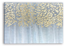 "Load image into Gallery viewer, ""Golden Forest"" Hand Painted on Wrapped Canvas"