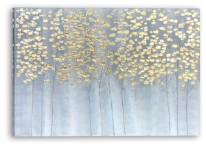 """Golden Forest"" Hand Painted on Wrapped Canvas"