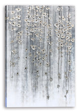 "Load image into Gallery viewer, ""Silver Autumn"" Hand Painted on Wrapped Canvas"