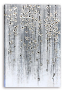 """Silver Autumn"" Hand Painted on Wrapped Canvas"