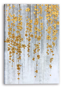 """Golden Fall"" Hand Painted on Wrapped Canvas"