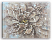 "Load image into Gallery viewer, ""Yellow Pollen"" Hand Painted on Wrapped Canvas"
