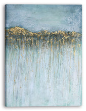 "Load image into Gallery viewer, ""Abstract Under the Water "" Hand Painted on Wrapped Canvas"