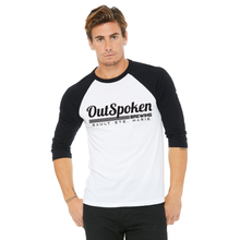 Load image into Gallery viewer, OutSpoken Unisex 3/4 Sleeve Tee