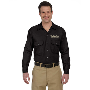 OutSpoken Dickies Men's Long Sleeve Work Shirt