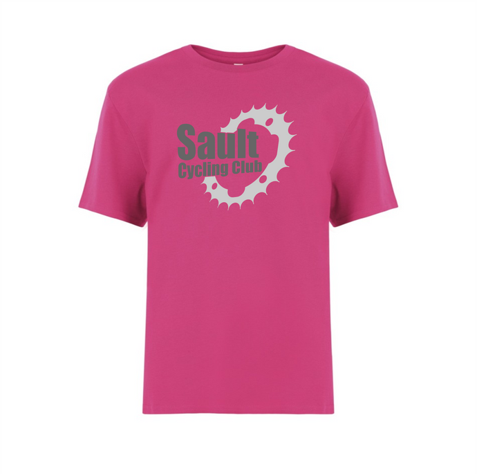Sault Cycling Club Youth Round Neck Cotton Tee