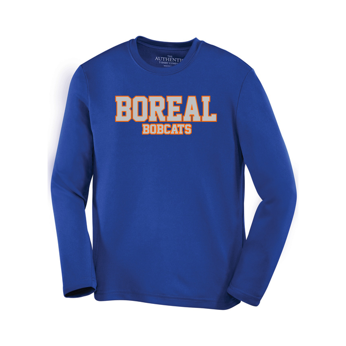 Boreal Bobcats Spirit Wear Pro Team Long Sleeve Tee - Youth AND Adult