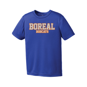 Boreal Bobcats Spirit Wear Pro Team Tee - Youth AND Adult