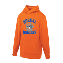 Load image into Gallery viewer, Boreal Bobcats Logo Spirit Wear Game Day Hoodie - Youth AND Adult