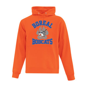Boreal Bobcats Logo Spirit Wear Hoodie - Youth AND Adult