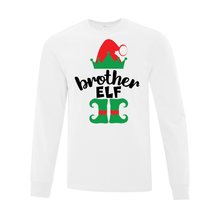 Load image into Gallery viewer, Brother Elf Long Sleeve Tee - Youth AND Adult