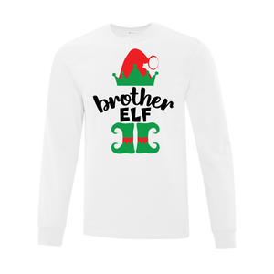 Brother Elf Long Sleeve Tee - Youth AND Adult