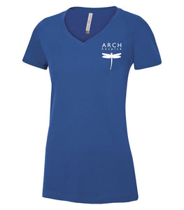 Arch Ladies V-Neck Tee