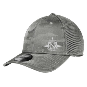NOS New Era Camo Stretch Tech Mesh Hat