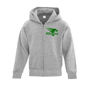 Pinewood Spirit Wear Full Zip Hooded Sweatshirt - Youth AND Adult