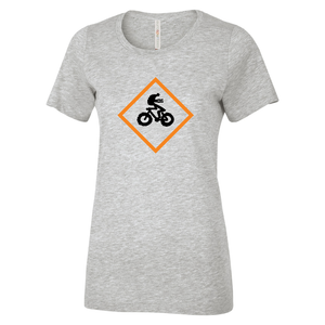 SCC Fat Biking - Rasta Man Ladies Tee