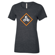 Load image into Gallery viewer, SCC Fat Biking - Rasta Man Ladies Tee