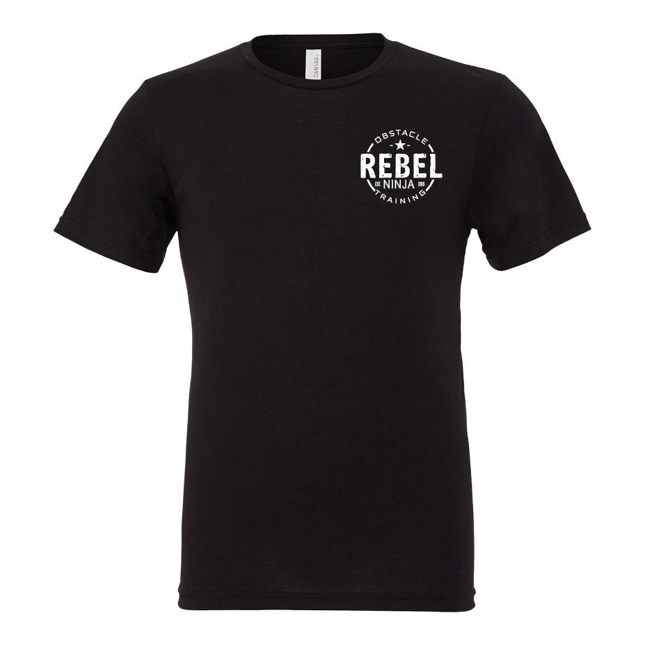 REBEL GYM Left Chest Logo Youth T-Shirt
