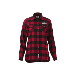 OutSpoken Women's Roots73 Sprucelake Long Sleeve Plaid Shirt