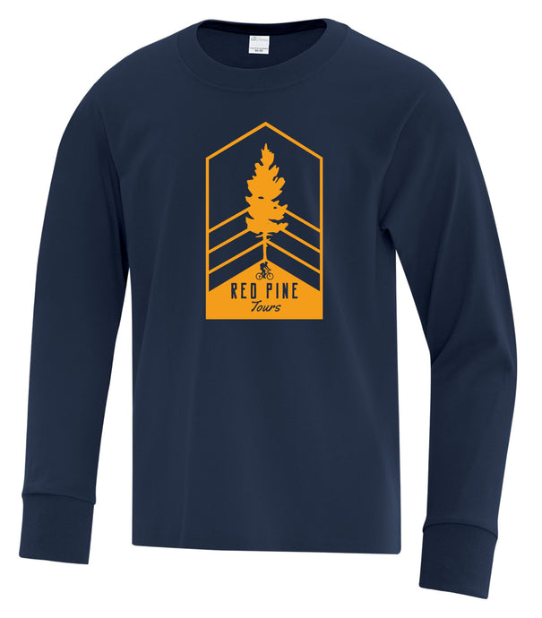 Red Pine Tours Youth Long Sleeve Tee
