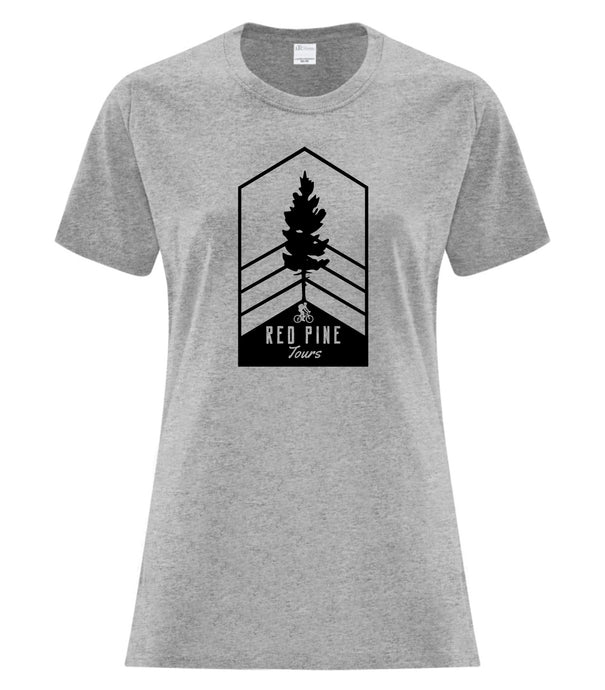 Red Pine Tours Ladies Short Sleeve Tee