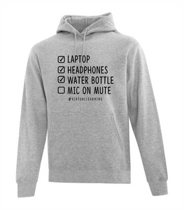 Virtual Learning Checklist Hoodie