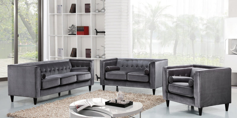 Halla Living Room Group Grey (Sofa)