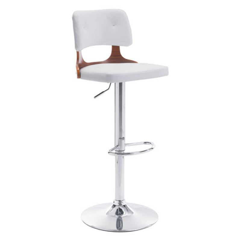 Logo Bar Chair White