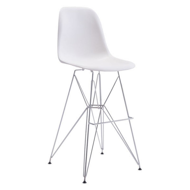Quest Counter Chair White
