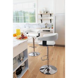 Grant Bar Chair White