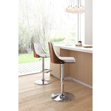 Adam Bar Chair White