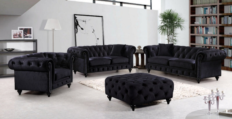 Corayne Living Room Group Black (Sofa)