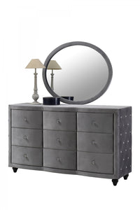 Bari Bedroom Group Grey