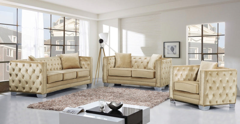 Capree Living Room Group Beige (Sofa)