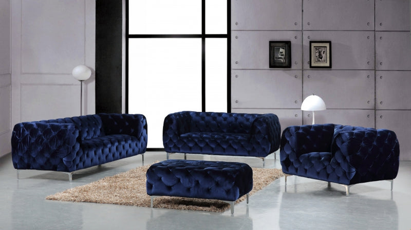 Eyani Living Room Group Navy (Sofa)
