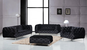 Eyani Living Room Group Black (Sofa)